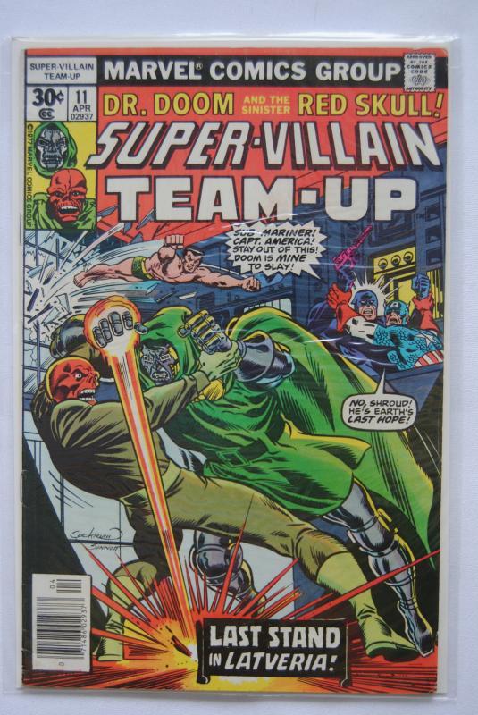 Super-Villain Team-Up #11