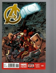 12 Marvel Comics Avengers #26 27 28 29 30 31 32 33 34 34.1 35 36 J446