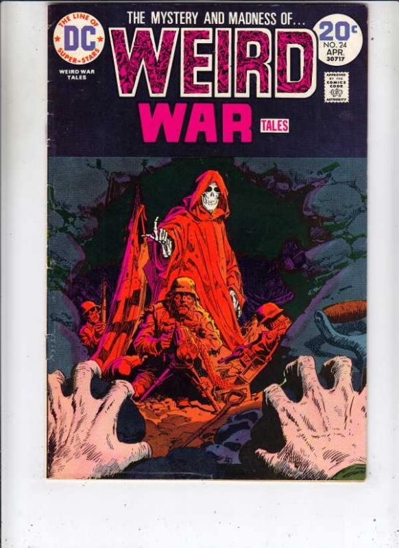 Weird War Tales #24 (Apr-74) VF/NM+ High-Grade