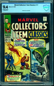 Marvel Collectors' Item Classics #17 CBCS NM 9.4 Off White to White