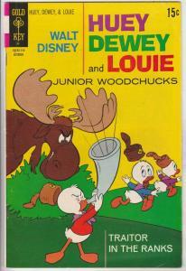Huey Dewey and Louie Junior Woodchuks #11 (Oct-71) FN Mid-Grade Huey Dewey Louie