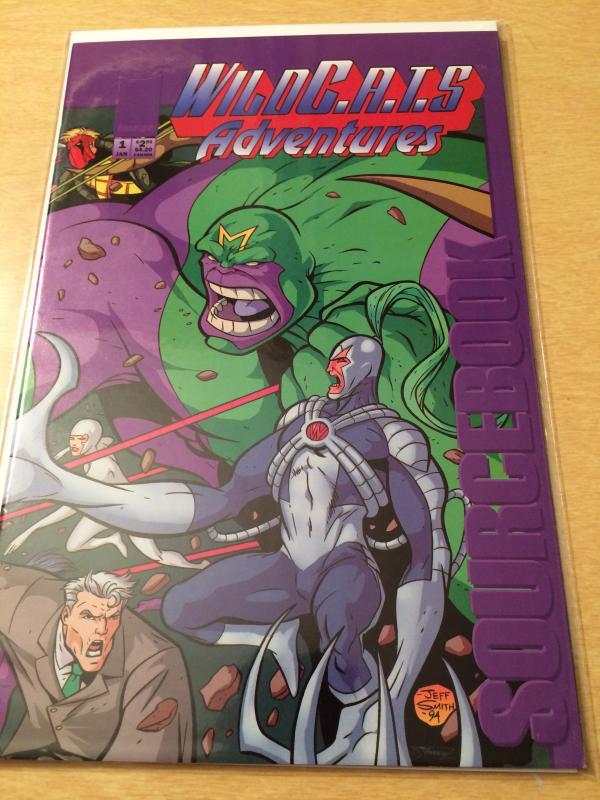 WildC.A.T.S Adventures Sourcebook#1