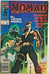 NOMAD#1 FN/VF 1992 MARVEL COMICS