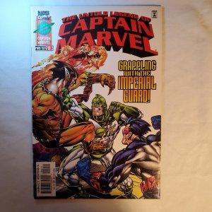 Untold Legend of Captain Marvel 2 Very Fine- Cover by Scott Kolins