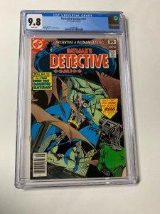 Detective Comics 477 Cgc 9.8 White Pages Dc Comics 2060492007 Batman