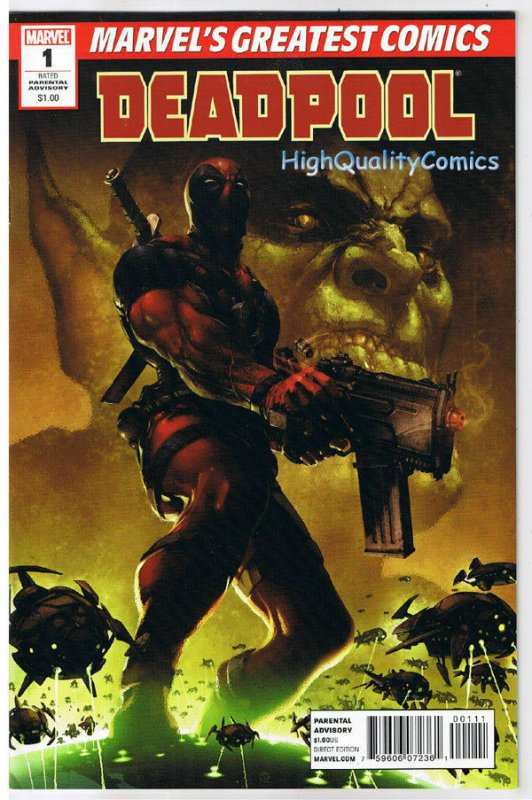 DEADPOOL MCG #1, VF+, Daniel Way, Merc with a Mouth, 2010, more Marvel in store