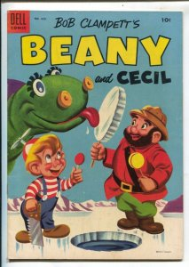 Bob Clampett's Beany and Cecil-Four Color Comics #635 1954-Dell-based on TV c...