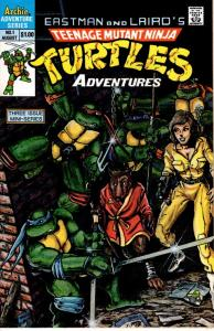 teenage mutant ninja turtles #1 Archie limited series $10.00 VFN/NM