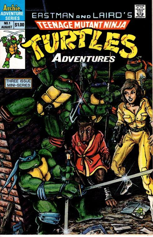 teenage mutant ninja turtles #1 Archie limited series $10.00 VFN/NM