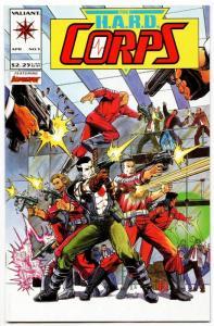 HARD Corps #5 Bloodshot (Valiant, 1993) VF