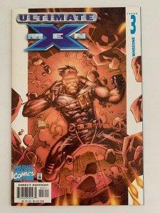 Ultimate X-Men #3 Warzone (2001 Marvel Comics) NM