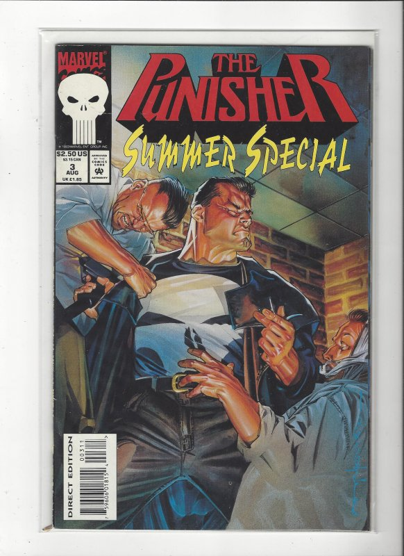 The Punisher Summer Special #3 (1993) 48 Pages Stelfreeze Cover Marvel Comics NM