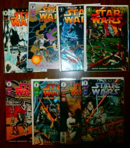 Classic Star Wars   #1,6,7,19 +++ (set of 8)