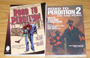 Road To Perdition GN 1-2 complete series - on the road - max allan collins set