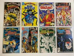 Secret Origins lot #1-50 + Specials 2nd Series DC 43 pieces 8.0 VF (1986-'90)
