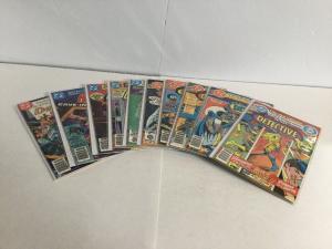 Detective Comics 491-500 Lot Set Run Vf-Nm Very Fine-Near Mint