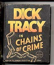DICK TRACY #1185-BIG LITTLE BOOK 1936 FN