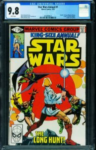 Star Wars Annual #1 CGC 9.8 Luke Sywalker 2038908021