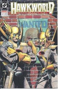 Hawkworld #2 (July 1990) - with Hawkman & Hawkwoman