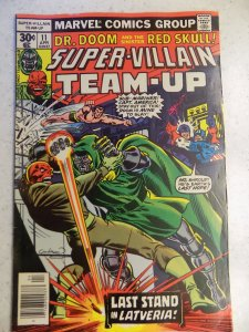 SUPER-VILLAIN TEAM-UP # 11