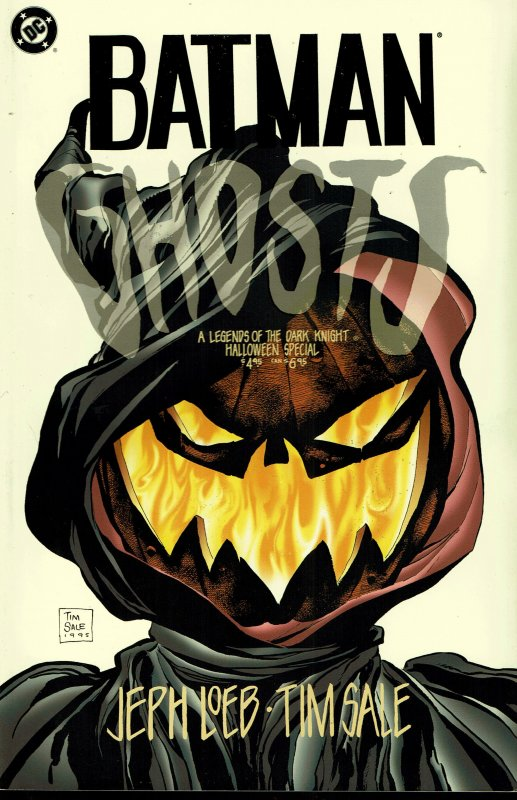 Batman: Ghosts - NM - 1995 - Legends of the Dark Knight Halloween Special