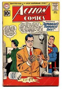 ACTION COMICS #282 1961-SUPERMAN-DC COMICS- SUPERGIRL VG/FN