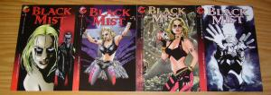 Black Mist: Blood of Kali #1-3 VF/NM complete series + variant - bad girl set