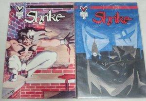 SHRIKE (1987 VI) 1-2 INDIE URBAN ADVENTURE;NICE TRY!