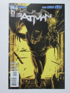 Batman (DC New 52 2012) #4 Variant Cover Signed by Mike Choi Court of Owls