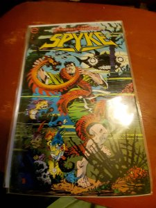 Spyke #3 (1993) damaged