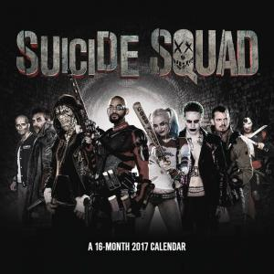 Suicide Squad Movie 2017 Wall Calendar - New/Sealed!