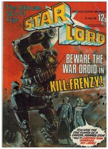 STAR LORD (BRITISH WEEKLY) 9 FN ( 7/ 8/78)