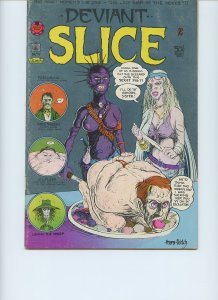DEVIANT SLICE FUNNIES #2 / Only Printing / 1973 / 36 pages / The Print Mint