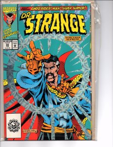 Marvel Comics Doctor Strange, Sorcerer Supreme #50 Chrome Enhanced Cover