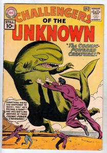 Challengers of the Unknown #20 (Jul-61) VF/NM High-Grade Challengers of the U...