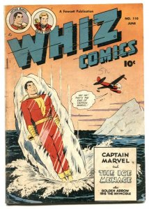 Whiz Comics #110 1949-Captain Marvel- Golden Arrow- VG