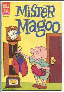 Mister Magoo #4 1963-Dell-wacky humor-TV cartoon series-FN