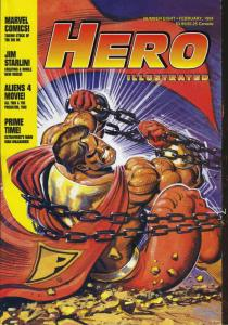 Hero Illustrated #8 VF; Warrior | save on shipping - details inside