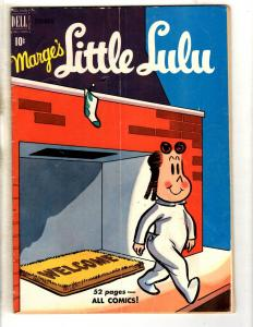 Marge's Little Lulu # 30 FN Dell Golden Age Comic Book Cartoon Character JL11