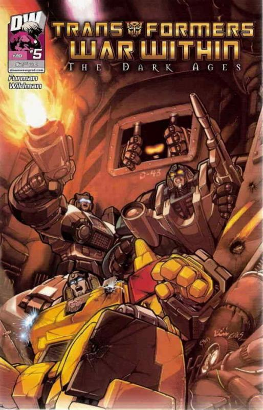 Transformers: War Within: The Dark Ages #5 VF/NM; Dreamwave | save on shipping -