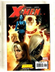 Lot of 9 X-Men Marvel Comic Books #187 188 189 190 193 194 195 196 198 HY7