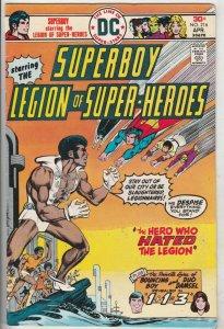 Superboy #216 (Apr-76) VF High-Grade Superboy, Legion of Super-Heroes