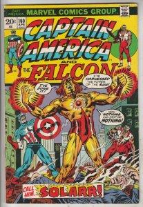 Captain America #160 (Apr-73) VF/NM High-Grade Captain America