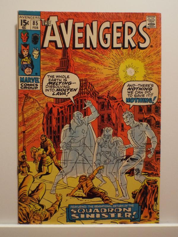 Avengers (1963 1st Series) #85, VF+, First Appearance Squadron Supreme