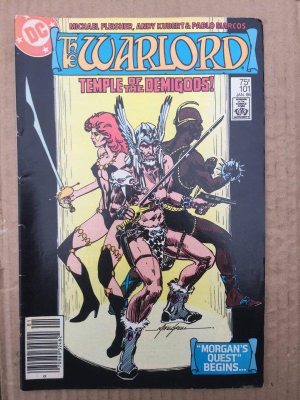 Warlord #101 (1986)