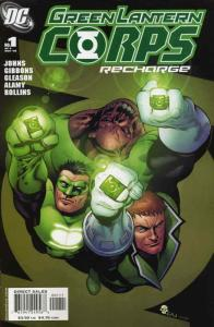 Green Lantern Corps: Recharge #1 FN; DC | save on shipping - details inside
