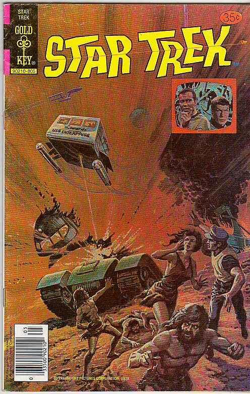 Star Trek #52 (May-78) VF- High-Grade Captain Kirk, Mr Spock, Bones, Scotty