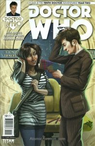 Doctor Who: The Tenth Doctor Year Two #12A VF/NM; Titan   save on shipping - det
