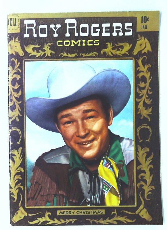Roy Rogers Comics (1948 series) #37, VF- (Actual scan)