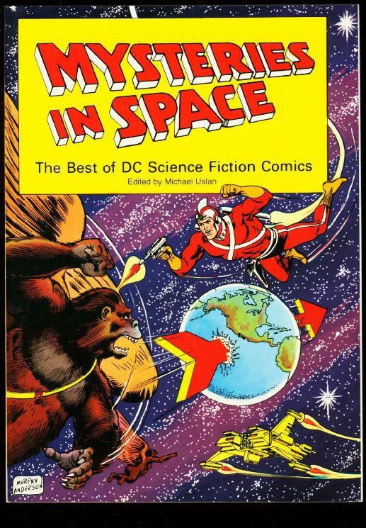 MYSTERIES IN SPACE-DC SCI FI COLLECTION-TRADE PB-1980 VF
